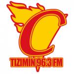 Logo da emissora Radio Candela Tizimín 96.3 FM