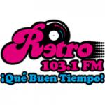 Logo da emissora Radio Retro 103.1 FM