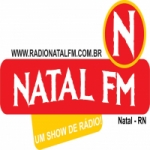 Logo da emissora Rádio Natal FM