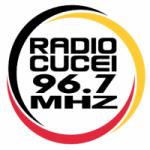 Logo da emissora Radio CUCEI 96.7 FM