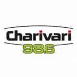 Logo da emissora Charivari 98.6 FM