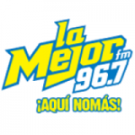 Logo da emissora Radio La Mejor 96.7 FM