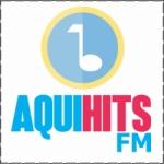 Logo da emissora Aqui Hits FM