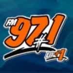 Logo da emissora Radio Los Numero Uno 97.1 FM