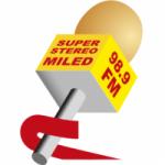 Logo da emissora Miled Radio 98.9 FM