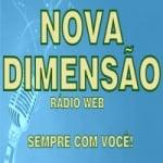 Logo da emissora Nova Dimensão Rádio Web