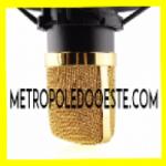 Logo da emissora Rádio Metrópole do Oeste