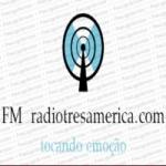 Logo da emissora FM Radiotresamerica