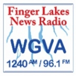 Logo da emissora WGVA 1240 AM