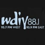 Logo da emissora WDIY 88.1 FM