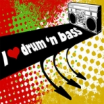 Logo da emissora Radio Miled Music Drum Bass