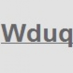 Logo da emissora WDUQ 90.5 FM