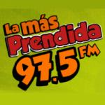 Logo da emissora Radio La Más Prendida 97.5 FM