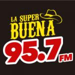 Logo da emissora Radio La Súper Buena 95.7 FM