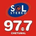 Logo da emissora Radio Sol 97.7 FM