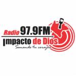 Logo da emissora Radio Impacto de Dios 97.9 FM