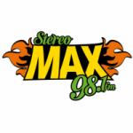 Logo da emissora Radio Stereo Max 98.1 FM