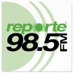 Logo da emissora Radio Reporte 98.5 FM