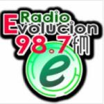 Logo da emissora Radio Evolucion 98.7 FM