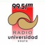 Logo da emissora Radio Universidad 99.5 FM