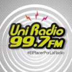Logo da emissora Uni Radio 99.7 FM