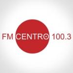 Logo da emissora Radio Centro 100.3 FM