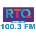 Logo da emissora Radio Querétaro 100.3 FM