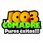 Logo da emissora Radio La Comadre 100.3 FM