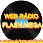 Logo da emissora Flash Mega