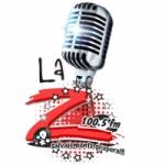 Logo da emissora Radio La Zeta 100.5 FM