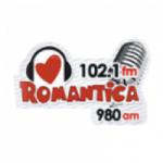 Logo da emissora Radio Romántica 102.1 FM