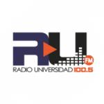 Logo da emissora Radio Universidad 100.5 FM