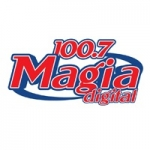 Logo da emissora Radio Magia Digital 100.7 FM