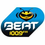 Logo da emissora Radio Beat 100.9 FM