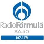 Logo da emissora Radio Fórmula Bajío 107.1 FM