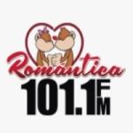 Logo da emissora Radio Romántica 101.1 FM