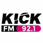 Logo da emissora Radio KICK 92.1 FM