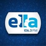 Logo da emissora Radio Ella 106.3 FM