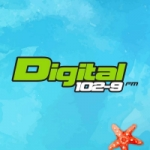 Logo da emissora Radio Digital 102.9 FM