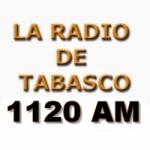 Logo da emissora La Radio de Tabasco 1120 AM