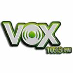 Logo da emissora Radio Vox 103.3 FM