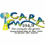 Logo da emissora Rádio Ocara 104.9 FM