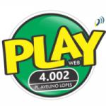 Logo da emissora Play Forró 4.002