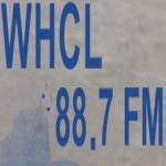 Logo da emissora WHCL 88.7 FM