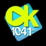 Logo da emissora Radio Ok 104.1 FM