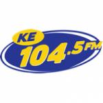 Logo da emissora Radio KE 104.5 FM