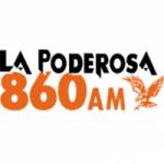 Logo da emissora Radio La Poderosa 860 AM