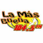 Logo da emissora Radio La Más Buena 104.5 FM