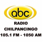Logo da emissora ABC Radio Chilpancingo 105.1 FM
