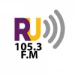 Logo da emissora Radio Universidad 105.3 FM